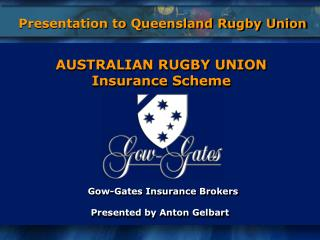 Gow-Gates Insurance Brokers Presented by Anton Gelbart