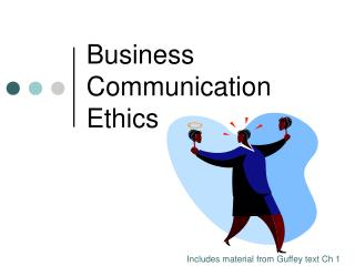 Business Communication Ethics