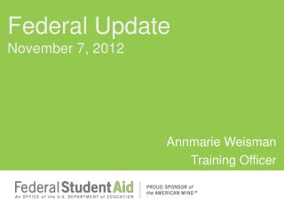 Annmarie Weisman Training Officer