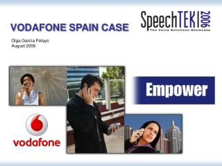 VODAFONE SPAIN CASE