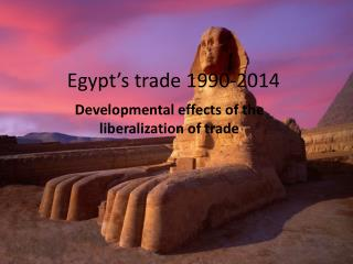 Egypt�s trade 1990-2014
