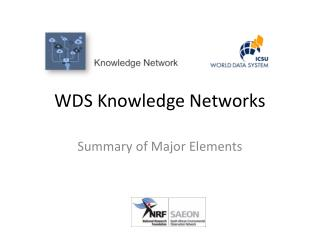 WDS Knowledge Networks