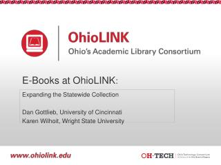 E-Books at  OhioLINK :