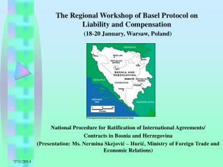 National Procedure for Ratification of International Agreements/