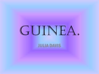GUINEA.