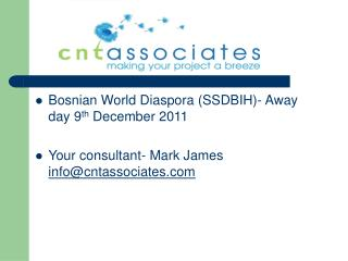 Bosnian World Diaspora (SSDBIH)- Away day 9 th  December 2011
