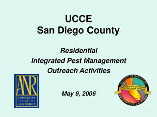 UCCE San Diego County