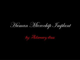 Human Microchip Implant