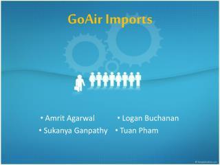 GoAir Imports
