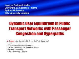 Dynamic User Equilibrium in Public Transport Networks with Passenger Congestion and Hyperpaths
