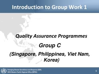 Introduction to Group Work 1