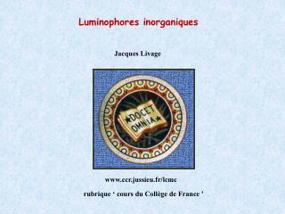 Jacques Livage