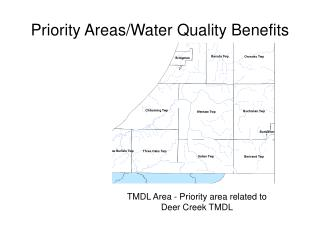 Priority Areas/Water Quality Benefits