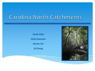 Carolina North Catchments