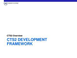 CTS2  Development  Framework