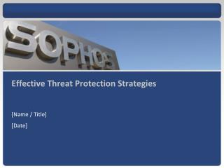 Effective Threat Protection Strategies