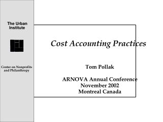 Cost Accounting Practices