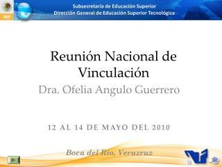 Reunión Nacional de Vinculación