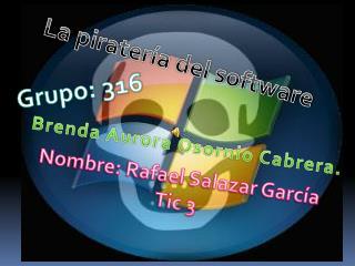 Nombre: Rafael Salazar Garc�a Tic 3