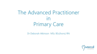 Advanced Nurse Practitioner Emergency Service