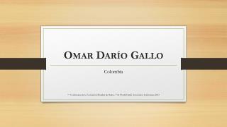 Omar Darío  Gallo