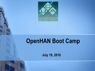 OpenHAN Boot Camp