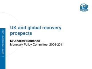 UK and global recovery prospects