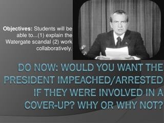 "Nixon and His ""Enemies"""