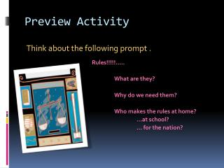 Preview Activity