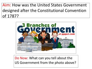 Aim:  How was the United States Government designed after the Constitutional Convention of 1787?