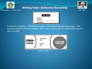 Writing Tutor:  Deductive Reasoning
