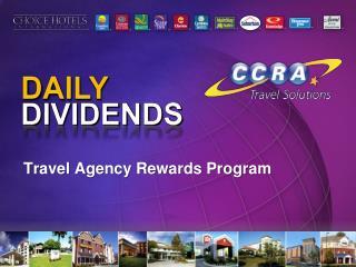 Travel Agency Rewards Program