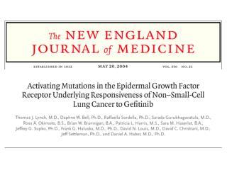 Non-Small-Cell Lung Cancer