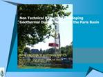 Non Technical Barriers in Developing Geothermal District Heating in the Paris Basin