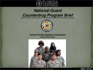 National Guard Counterdrug Program Brief