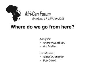 Afri -Can Forum