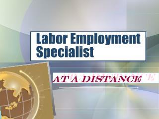 Labor Employment Specialist
