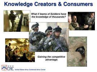 Knowledge Creators & Consumers