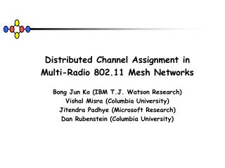 Distributed Channel Assignment in Multi-Radio 802.11 Mesh Networks