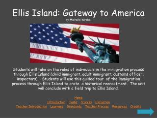 Ellis Island: Gateway to America by Michelle  Wrobel