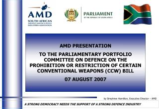 by Simphiwe Hamilton, Executive Director – AMD