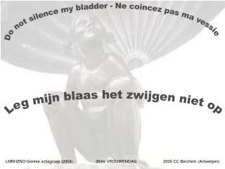 LMBHZNO-Gentse actiegroep 2004  35ste VROUWENDAG  2006 CC Berchem Antwerpen
