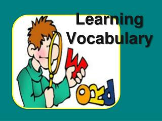 Learning Vocabulary