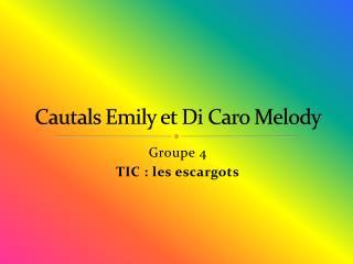 Cautals Emily et Di Caro Melody
