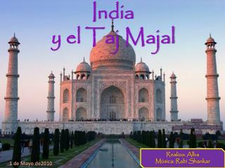 India y el Taj Majal