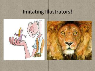 Imitating Illustrators!