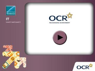 OCR Level 3 Cambridge Technicals in IT
