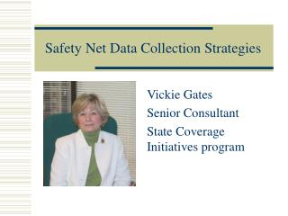 Safety Net Data Collection Strategies
