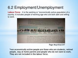 6.2 Employment/Unemployment