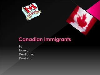 Canadian immigrants